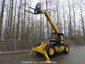 2001 Caterpillar Th103 44 10k Telescopic Reach Forklift Telehandler Repair