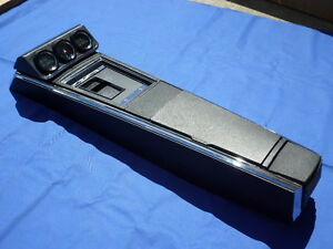 New 1967 Camaro Firebird 4 Speed Console Gauge Cluster Gm Licensed Assembled