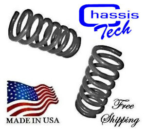 D 1963 1987 Chevy Gmc 1 2 Ton 2 Front Drop Lowered Coil Springs 251120