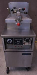 Henny Penny 600 Commercial Natural Gas Nat Pressure Deep Fryer