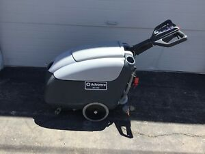 Advance Sc400 Electric Battery Powered Walk Behind Floor Scrubber Polisher