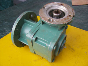 Leroy Somer 30 1 Mva Speed Reducer Right Angle Gear 5 8 Hollow Shaft Gearbox