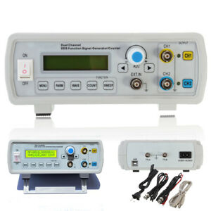 Us 2mhz Digital Dds 2 channel Arbitrary Function Signal Generator Meter Usb