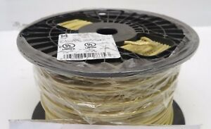 New 500 Ft Roll spool Yellow 14 Awg Stranded Copper 600v Thhn mtw mtw tool Wire