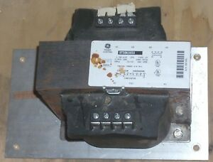 Ge Electric 9t58k0053 Industrial Control Transformer 1 5kva 1 Phase Torque 6 8