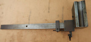 Heavy Shop Made Dial Test Indicator Height Gage Gauge Stand Machinist Jig