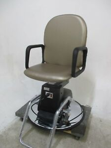 New Unused Brown Ultraleather Galaxy Electric Medical Exam Chair