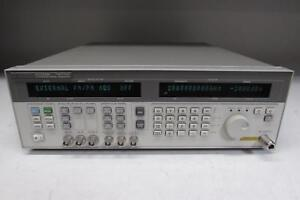 Hp Agilent 83732b Synthesized Signal Generator Opt 1e1 1e5