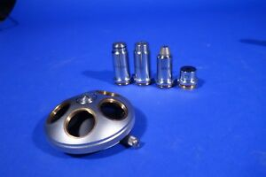 Full Set Of Zeiss Microscope Objectives Nosepiece 3 2x 10x 25x 100x