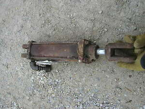 Original Cross Implement Cylinder Farmall Ford John Deere Plow Disk Mower