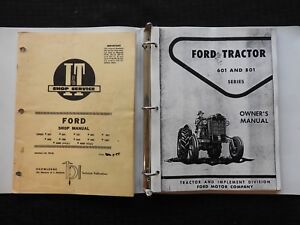 1964 Ford 601 700 701 800 801 900 901 1801 2000 4000 Tractor I t Service Manual