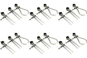 6 Sets Of Inside Outside Divider Calipers 4 3pc In Each Set