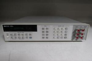 Agilent 3458a Digital Multimeter 8 5 Digit No Option
