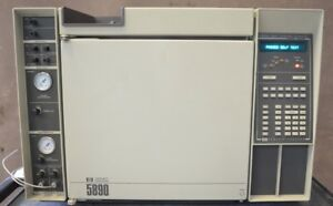 Hp 5890a Gas Chromatograph Agilent Gc Hewlett Packard