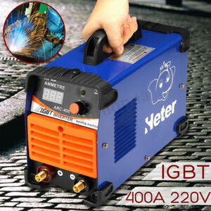 Mma Mini Electric Welder 220v 10 400a Igbt Inverter Arc Welding Machine Tool