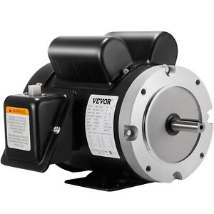 141556c Electric Motor 1 5hp 1phase 1750rpm 5 8 shaft Flange Applicable General