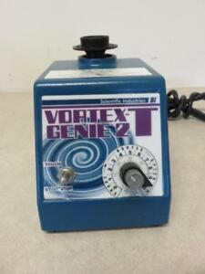 Scientific Industries Vortex Genie 2 T Mixer Si t236 W Timer Single Tube Top