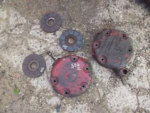 Farmall 504 Rowcrop Tractor Orignl Ih Ihc Pair Of Disk Disc Brakes