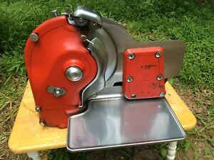 Vintage Berkel Meat Slicer Us Slicing Machine Co Model G B Works Well See Video