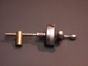 9 10k South Bend Lathe Compound Rest Large Dial And Screw Assembly