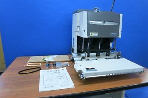 Filepecker Iv 3 Spindle Hole Paper Drill Punch Fp4 60 Challenge Baum Yale