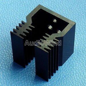10pcs Heatsink Aluminum Heat sink For To 3 Transistors