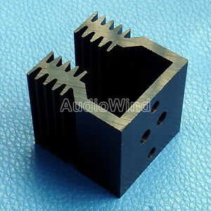 4pcs Heatsink Aluminum Heat sink For To 3 Transistors