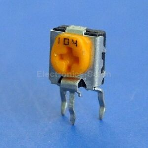 500pcs Panasonic 100k Ohm Side adjust Square Trimmer Potentiometer Evnd 6fe