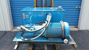 Fluid Air Components Hydraulic Power Unit 45 Gallon 15 Gpm 230 460v 10hp 3ph