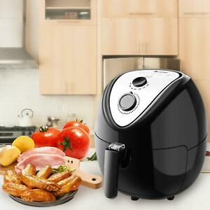 1800w 5 6qt Electric Timer Air Deep Fryer Low fat Multi cooker Oilless Safe Cook