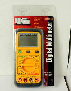 Uei Digital Multimeter Meter Dm383b Hvac New
