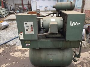 Joy Twistair Air Compressor Sullair Refrigerated Air Dryer Lagrange