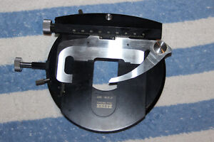 Zeiss Microscope Wl Photomicroscope Universa Standaedl Rotate Stage