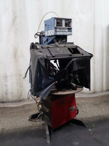 Lincoln Electric bancroft 300 invertec Stt Rotary Mig Welder 29v 225a 061