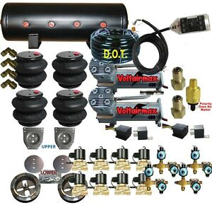 C10 Air Ride Suspension Kit Chevy 1963 72 3 8 Valves 14 Function Remote