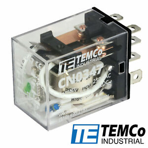 Temco Ice Cube Relay General Purpose 10a Contact ly2 Select Coil Voltage
