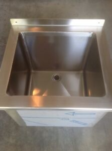 John Boos New Drop In Ice Bin Sink 14 x12 5 x13 Inside Restaraunt Commercial