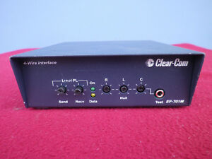 Clear com Ef 701m 4 wire Interface With Call Signal Matrix to partyline
