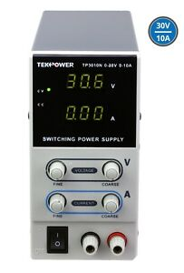 Tekpower Tp3010n Regulated Dc Variable Power Supply 0 30v At 0 10a