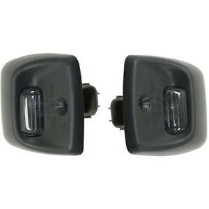 License Plate Light For 2000 2006 Toyota Tundra Set Of 2 Rear Left And Right