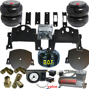 Air Helper Spring Tow Kit Chassis Tech 2011 2016 Chev Gmc 2500 3500 Manage Dc100