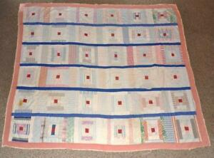 Antique Vintage Homemade Patch Quilt 85 X 74 Montgomery County Pa Farmhouse