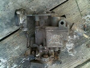 Ac Ih Farmall Jd Oliver Tractor Original Carter Carburetor