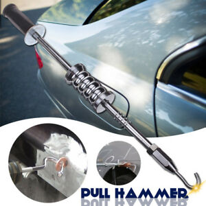 Car Dent Tool Slide Hammer Puller Set Welding Machine Accessory W Hook Pulling