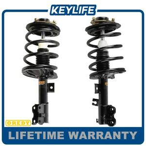 Pair 2 Front Strut W Spring Mount Quick Assembly For 2004 2008 Maxima New