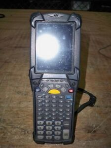 Motorola Mc9190 Mc9190 gj0sweqa6wr Mobile Computer Barcode Scanner No Battery