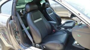 2004 Ford Mustang Mach1 Oem Black Silver Leather Seats Coupe Front Rear Gt