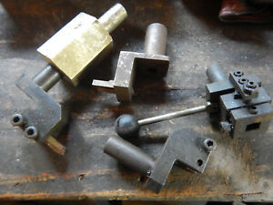 Pile Of No Name Turret Lathe Tool Holders Machinist Tooling