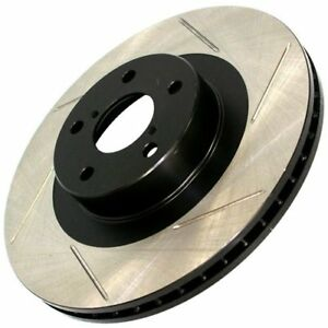 Stoptech New Brake Disc Front Passenger Right Side Awd Rwd Slotted Rh Hand 300