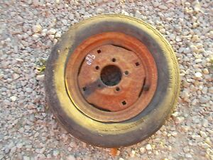 Farmall Ih Cub Tractor 4 00 X 12 Front Tire Tube W Ih Rim Rim To Use